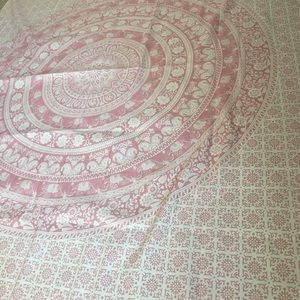 Urban Outfitters Pink Tapestry
